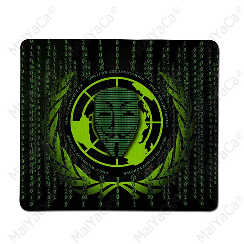 MaiYaCa Quality Hacker Style Customized MousePads Computer Laptop Anime Mouse Mat Free Shipping Large Mouse Pad Keyboards Mat in Mouse Pads from Computer Office