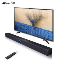 JY AUDIO Wireless Bluetooth Soundbar TV Column Dual Subwoofer Speaker Home Theater DSP Surround Sound System