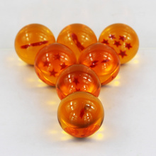 7Pcs Set Dragon Ball Z 7 Stars Crystal Ball