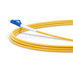 Image 4 - Cordon de raccordement optique LC UPC à SC UPC câble de raccordement G657A cordon optique Simplex 2.0mm PVC LC SC connecteur FTTH câble optique