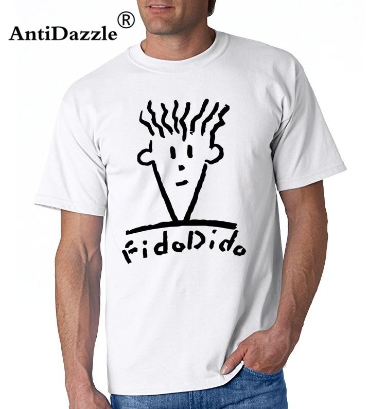 Promo 2019 Gaya Musim Panas T Shirt Fido Dido Pop Minum T Shirt