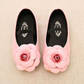 Brand Design Fashion Kids Girl Ballets Shoes with Flower Elastic Strap Child Girls Flats Toddlers Princes Shoes Chaussure Fille