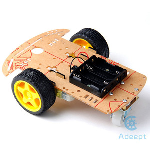 Image 2 - Adeept умный моторный робот, автомобильный аккумуляторный ящик, комплект шасси, датчик скорости для Arduino, бесплатная доставка, diykit diy