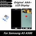Высокое качество синий цвет оригинал дисплей для Samsung Galaxy A5 A500 A5000 жк-дисплей сенсорный экран с цифрователем ассамблеи + инструменты