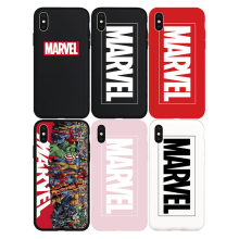 Brand NEW Logo Marvel Cool Soft Case for iPhone 11 11Pro 11ProMax X Xs XR XsMax 8Plus 8 7Plus 7 6 6s Plus 5 5s SE Phone Cover(China)