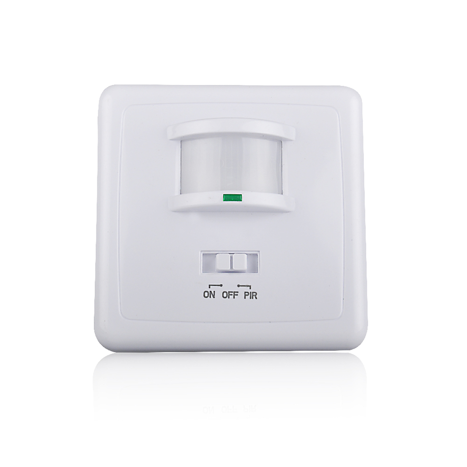 Luxform High Quality Wall Light With Pir Sensor : wall mounted pir motion sensor light High quality switch MAX 600w load+9m max distance (ET031B ...