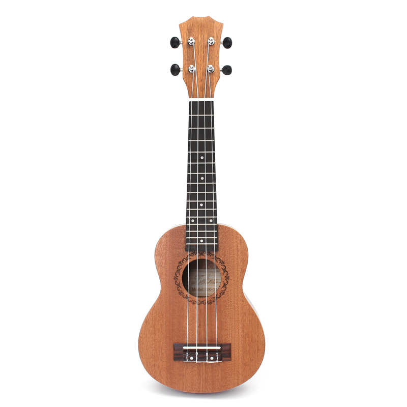 21 Inch Ukulele, Beginner Guitar, Small Guitar, Can Play a Musical Instrument(China)