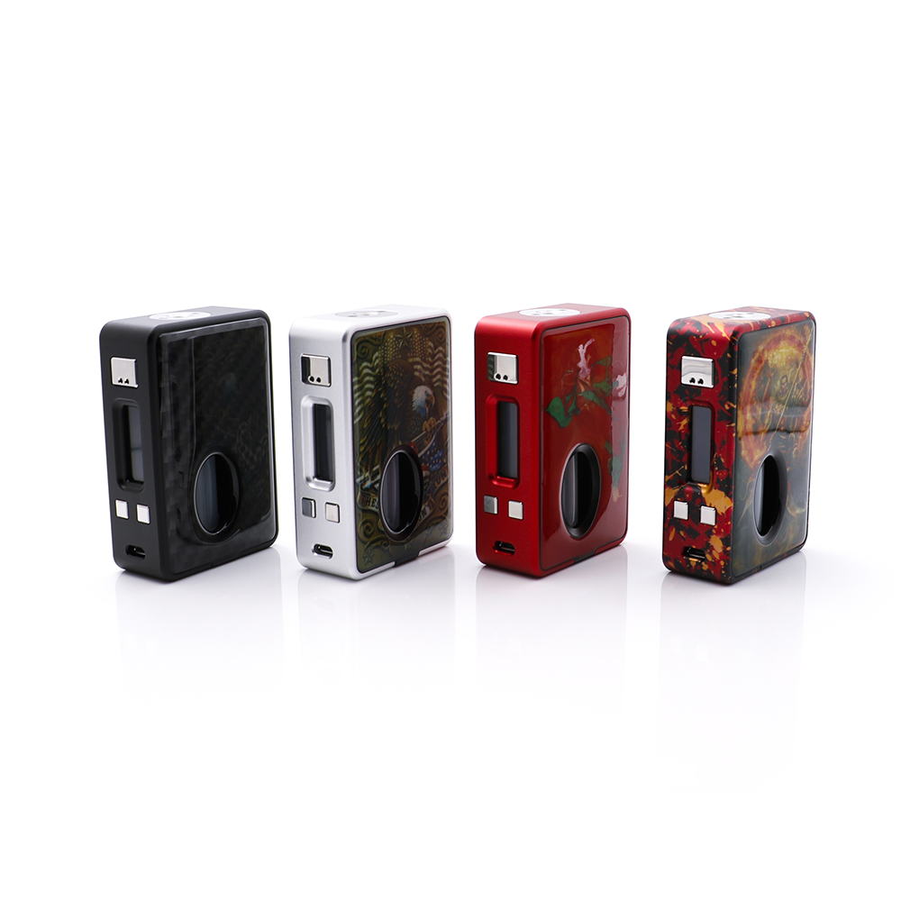 Original Hcigar VT Inbox Squonk TC Box Mod 18650 Battery 8.0ml Internal Squonk Bottle Evolv DNA75 Chip Customized LED Light voopoo drag 157w tc box mod