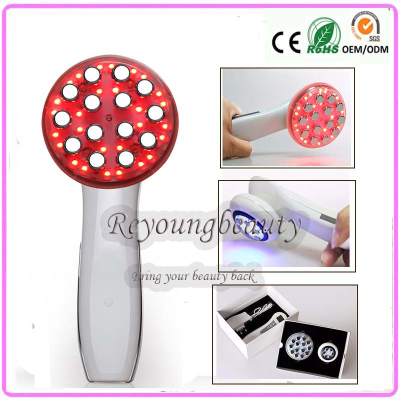 Free DHL RF Radio Frequency Bio Microcurrent Face Body Skin Firming Lifting Rejuvenation Acne Wrinkle Treatment Beauty Equipment