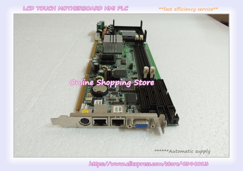 Industrial control motherboard NUPRO-840 840DV 51-41350-0A2 dual network card