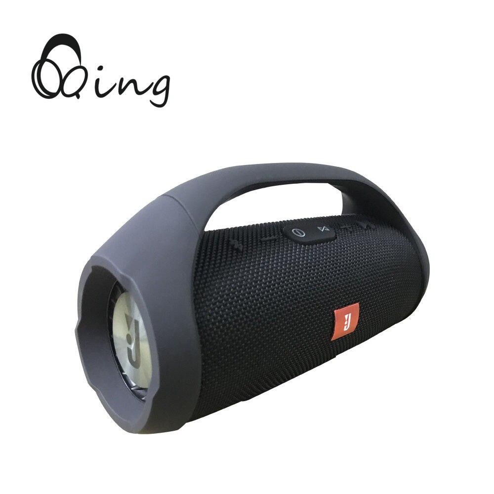 Haut-parleur sans fil Bluetooth stéréo Portable Boom Box sports de plein air basse colonne caisson de basses avec Radio FM TF lecteur Mp3