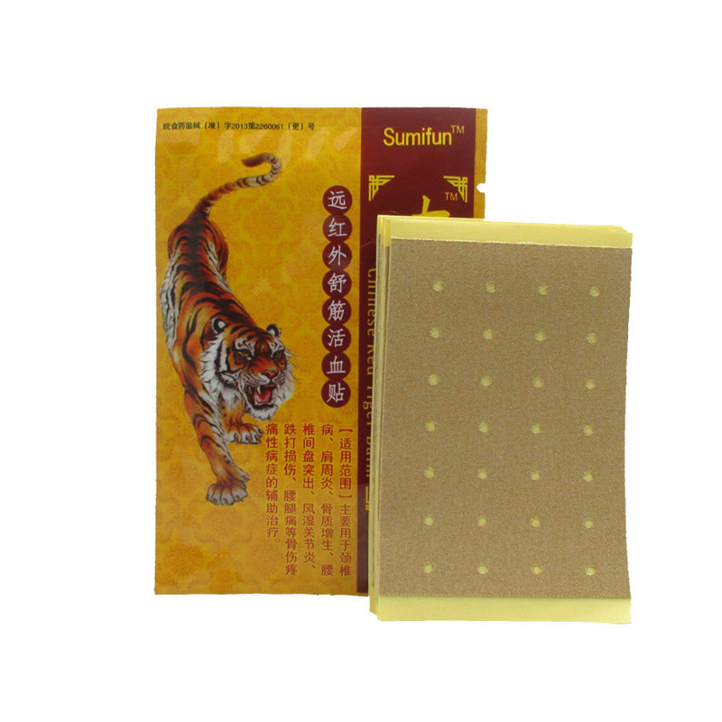 8Pcs/Bag Tens Orthopedic Plaster Pain Relief Patches Tiger Balm Medical Treatment Joint Muscle Back Pain Body Massage