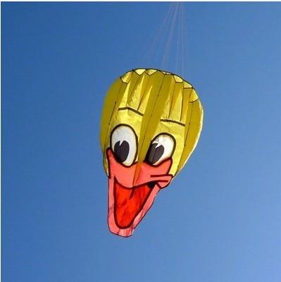 Высокое качество Новые мягкие DonaldDuck воздушные змеи лёгкие летают дети подарок кайт открытый игрушки Воздушные Змеи volante linha de pipa
