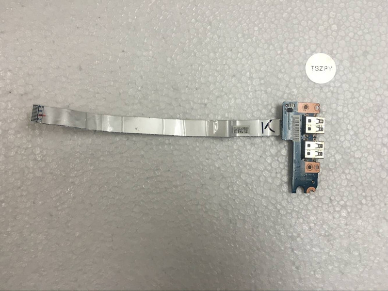 Genuine New Original USB Port Board With Cable For ACER E1-571 E1-531 E1-521 E1-571G E1-531G E1-521G Series LS-7911P new laptop keyboard for acer aspire e1 521 531 571 e1 521 e1 531 e1 531g e1 571 e1 571g us version