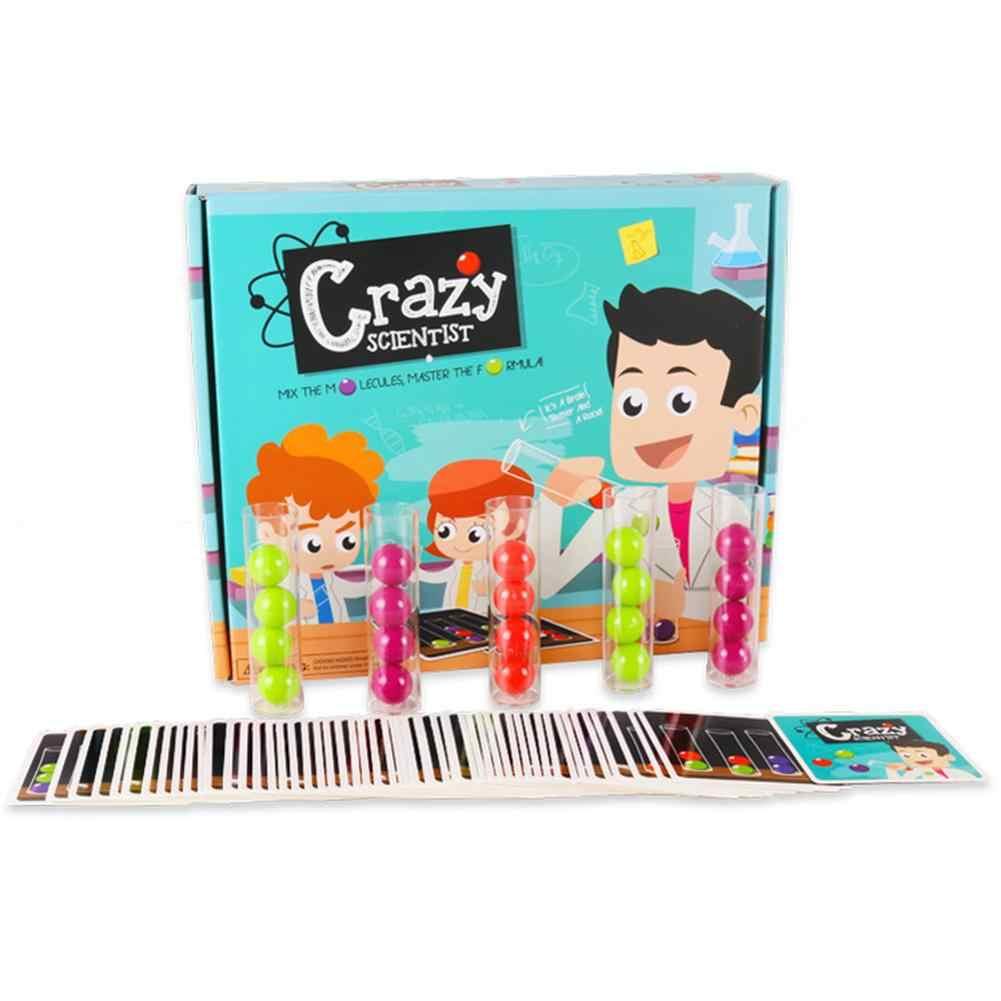 Les enfants font semblant de jouer le scientifique enlever les Tubes à billes jeu de société jeu d'équipe Kit de jouet jouet de puzzle éducatif jouets intellectuels pour les enfants