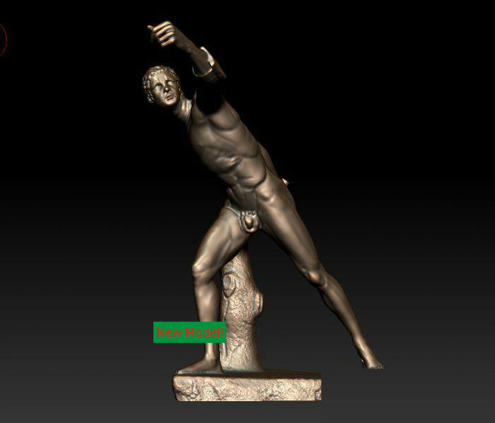 3D model for cnc 3D  CNC machine in STL file format Borghese fighter 3d model for cnc 3d cnc machine in stl file format aryah and cypress figure