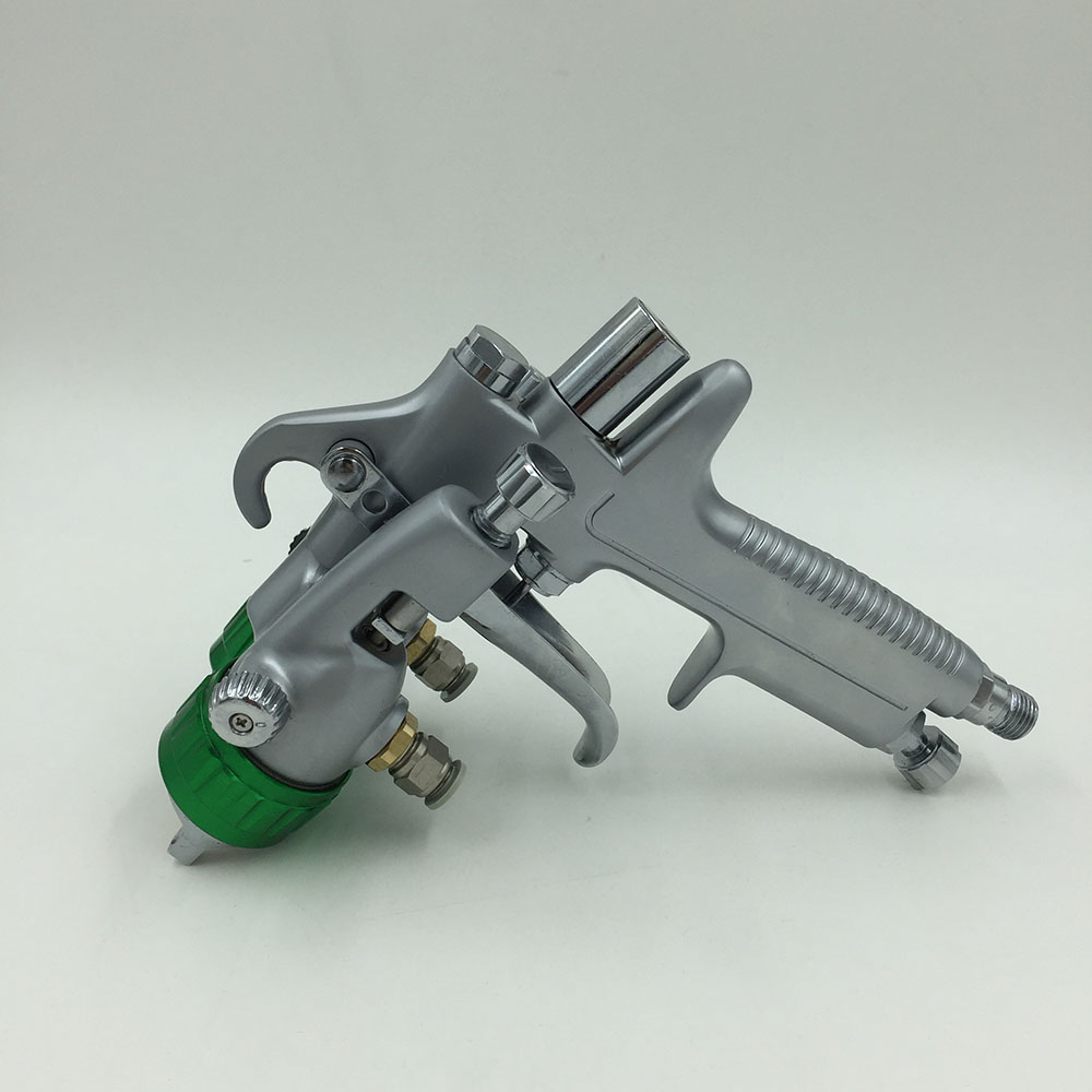 SAT1189 professional paint sprayer pneumatic double nozzle foam gun high pressure air gun стоимость