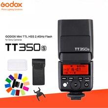 Godox TT350S Mini 2.4g Sem Fio TTL 1/8000 s HSS Speedlite Flash Da Câmera para Sony A7 A7II A7SII a7RII A6000 A6300 A6500 DSLR