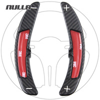 NULLA Carbon Fiber Car Steering Wheel Paddle Shift Shifters Extension For Porsche 911 997 996 981