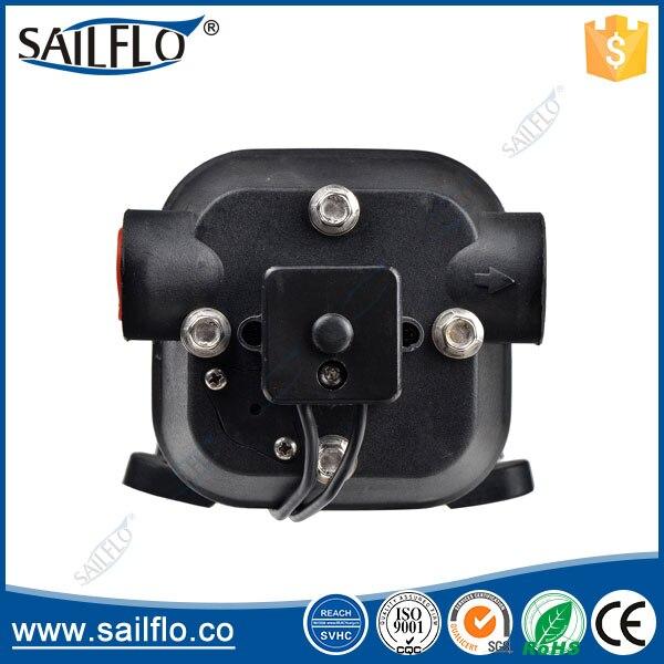 Sailflo FL-41 115vac 17LPM 40psi pompe à eau à diaphragme à haut débit pour Marine/RV/chauffe-eau - 4