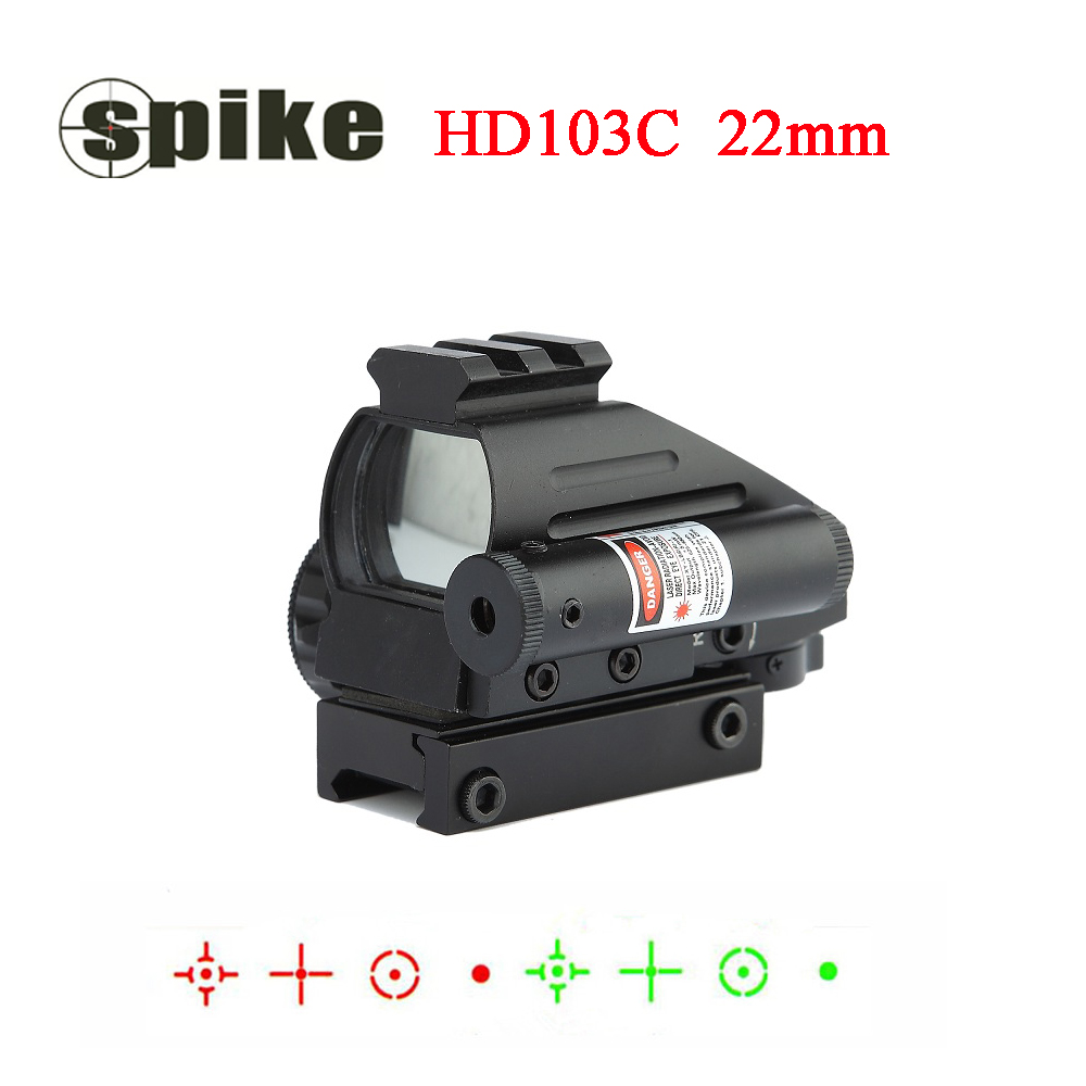 Tactical Reflex Red Green Dot Reticle Holographic Projected Dot Sight Scope Airgun Rifle sight Hunting Rail Mount 20mm tactical holographic red green dot reflex 4 reticle sight scope w 20mm rail mount for hunting