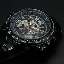 Winner Brand Luxury Watch Men Sport Casual Watches Mens Watch montre homme Automatic Mechanical Wrist Watch Skeleton Wristwatch