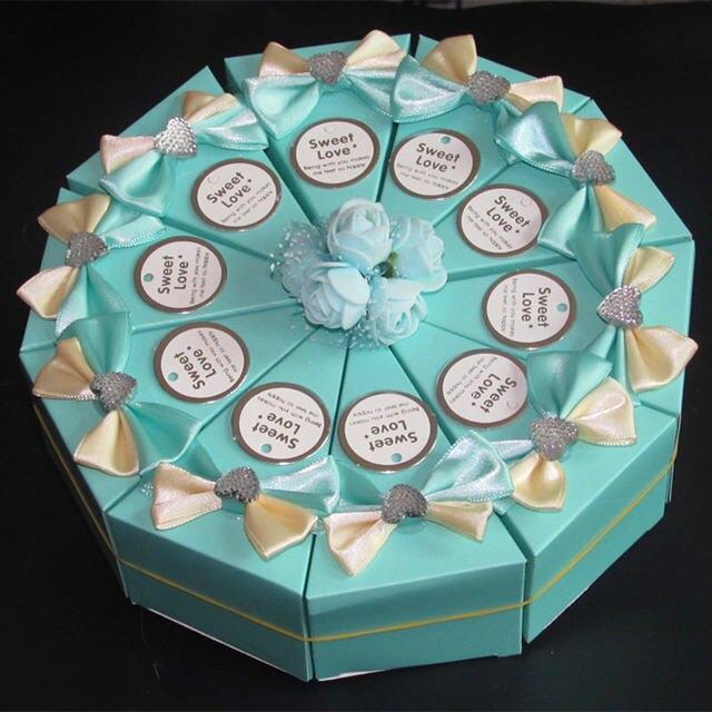 33 Stlys Cake Shape Happy Birthday Decoration Candy Box Wedding Candy Paper Box Happy Birthday Decorations For Kids 10 Piece Set