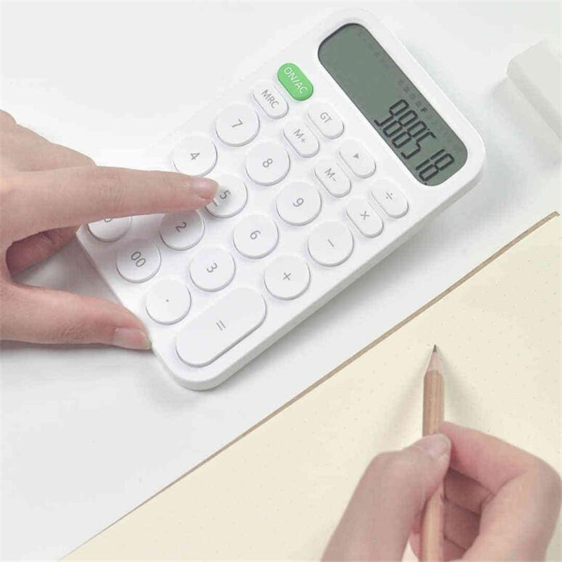 Xiaomi MIIIW 12 Digit Electronic Calculator Simple design LED Display calculation tool For Office Working Student Stationery (36)
