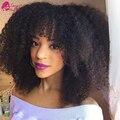 7a Peruano Kinky Curly Virgem Cabelo Humano Afro Crespo Tecer Cabelo Aliexpress Uk Encaracolado Kinky Extensões de Cabelo de Crochê Sassy Girl