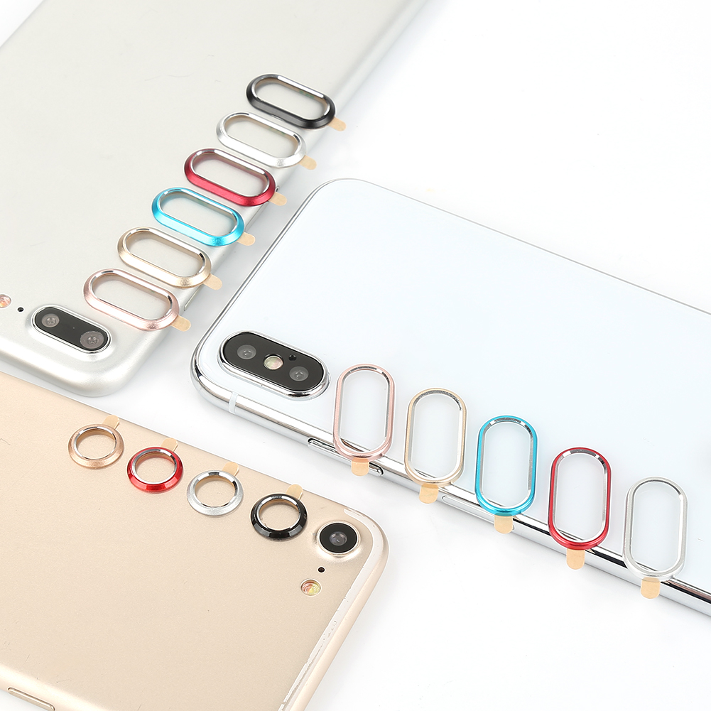 Camera Screen Protector For iPhone X 7 8 Plus Rear Back Camera Protector Protective Lens Case Ring Cover
