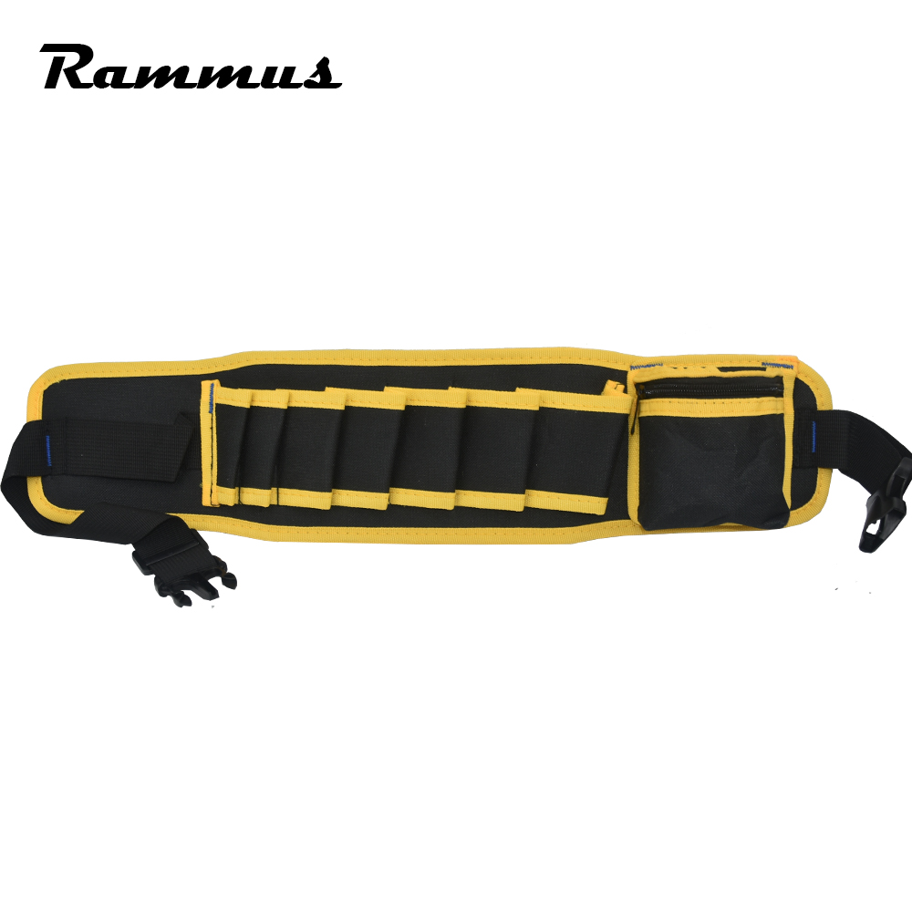 Electricians Adjustable Waist Pocket Belt Tool Bag Pouch Hammers Pliers Screwdriver Holder Storage Hand Repair Tool Organizer Attractive Designs; Tool Organizers
