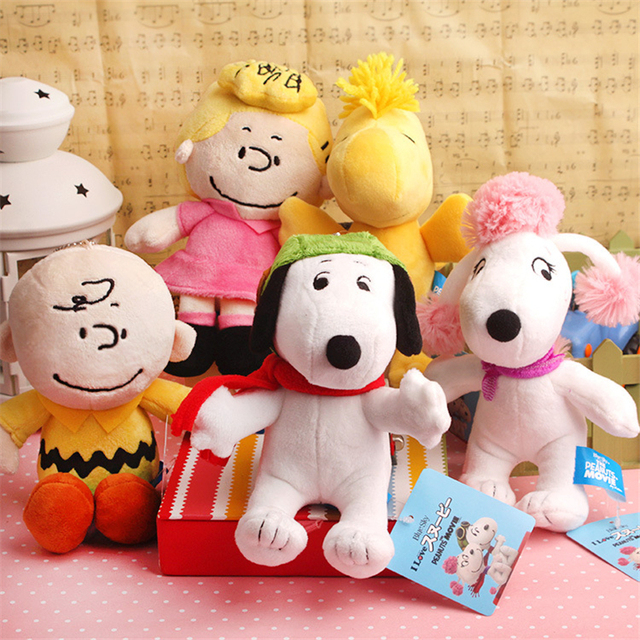 New The Peanuts Movie 2015 Full Character Charlie Brown Soft Plush