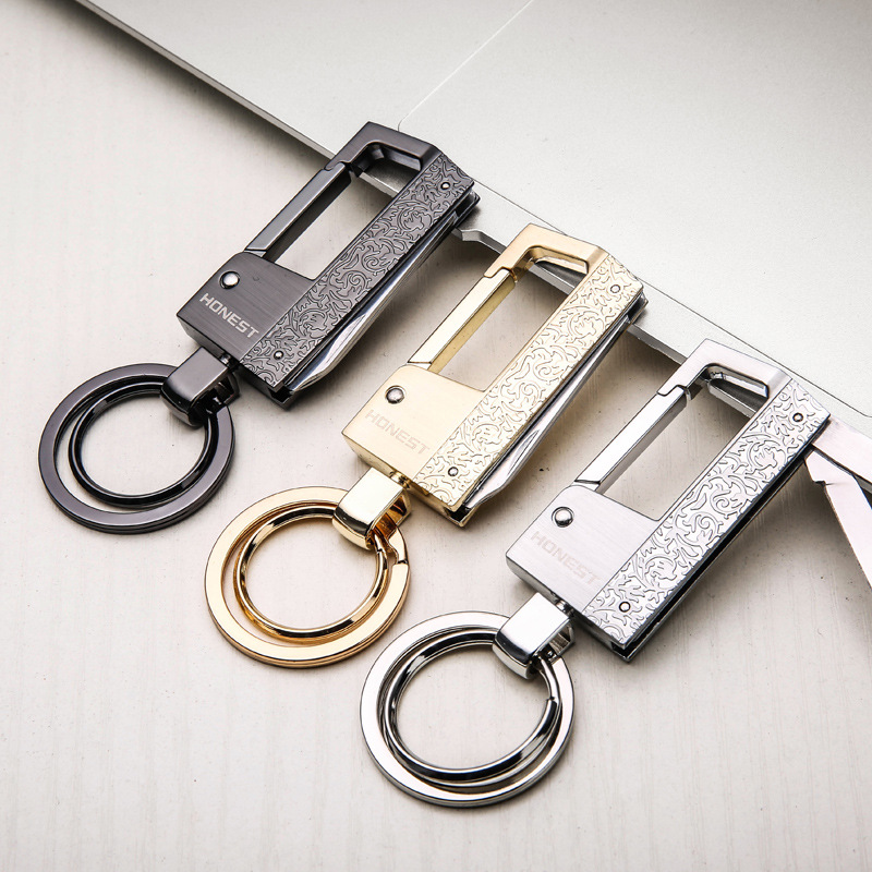 Multifunctional Zinc Alloy Keychain Bottle Opener Knife and Flat Screwdriver Key Ring for Men and Women(China)