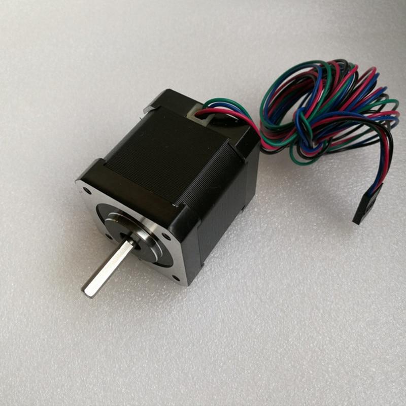 0.9 degré Nema 17 Moteur pas à pas Bipolaire 2A 46Ncm/65oz. dans 42x42x48mm 4-fils pour DIY CNC 3D printe