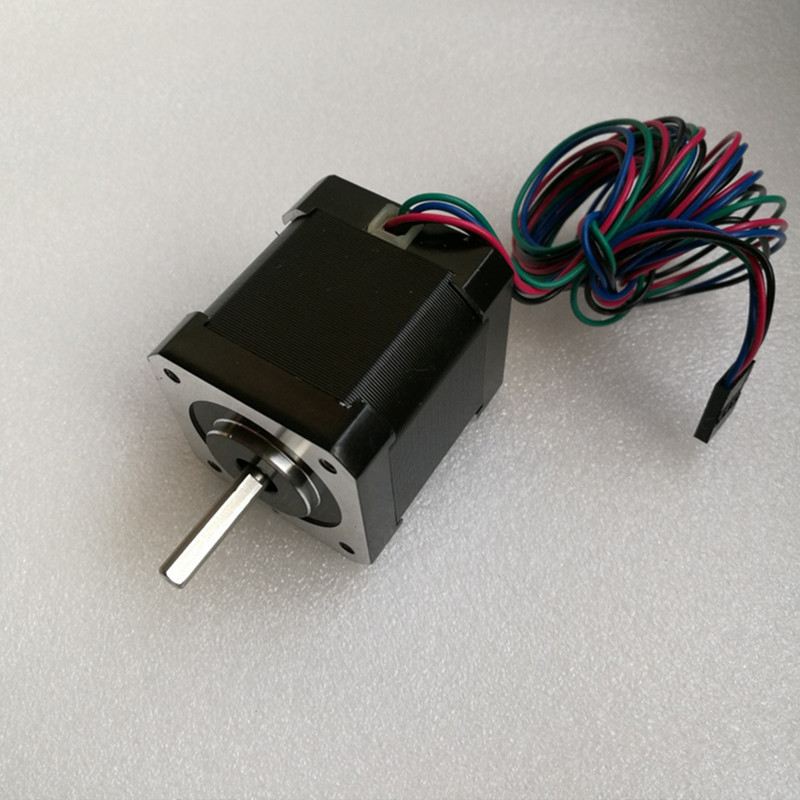 0.9 degree Nema 17 Stepper Motor Bipolar 2A 46Ncm/65oz.in 42x42x48mm 4 wires for DIY CNC 3D printe