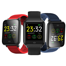2018 Smart Watch Men Color TFT Screen Fitness Clock Blood pressure IP67 Waterproof Sports Activity Heart Rate Tracker Smartwatch