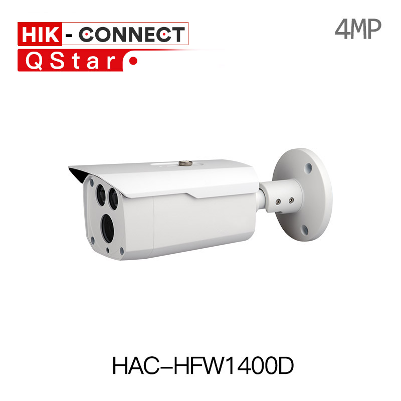 Dahua original english HAC-HFW1400D 4mp HDCVI Camera WDR IR 80m IP67 Bullet Camera DH-HAC-HFW1400D CCTV gun outdoor 1080p camera free shipping dahua 2mp 1080p water proof wdr hdcvi ir bullet camera without logo hac hfw2221d