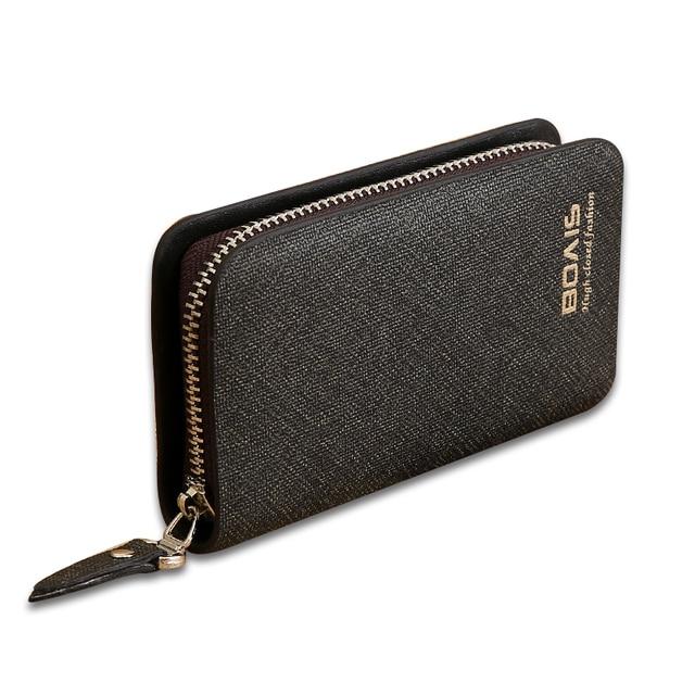 US $6 51 29% OFF|Business Housekeeper Keys Holder Car Key Wallet Keysmart  Leather Wallet Keychain Key Pouch Housekeeper Leather Keys Holders-in Key