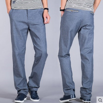 new brand mens spring autumn fashion Casual pants for men loose work pants male mens dress trousers working clothes plus size 44