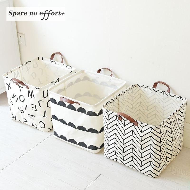 Plegable cesta de lavander a juguetes para beb s cesta - Cesta para guardar juguetes ...