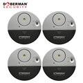 Value Pack 4pcs Doberman Beveiliging Sensor Detector Deur Raam Trilalarm voor Waarschuwing Inbrekers Intruder Home Security Alarm