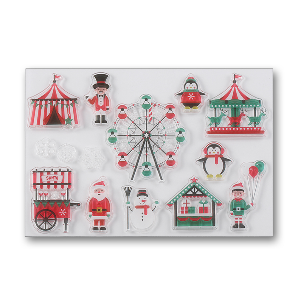 Holiday Crafts: Rubber Stamp Decorations Holiday Crafts: Rubber Stamp Decorations new picture