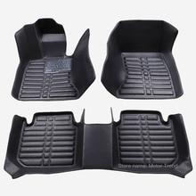 Ajustement personnalisé plancher de la voiture forToyota Camry Corolla RAV4 Civique Highlander Land cruiser 200 Prado 150 Prius verso 3D de voiture-style liner