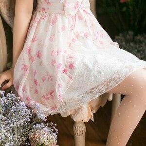 Image 2 - Prenses tatlı lolita elbise yeni şeker tatlı ince kısa kollu Japon tarzı C22AB7066