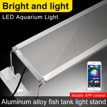 60-80CM RGB Led Lamp For Aquarium Lighting Fish Tank Light LED Marine 60CM 70CM 80CM