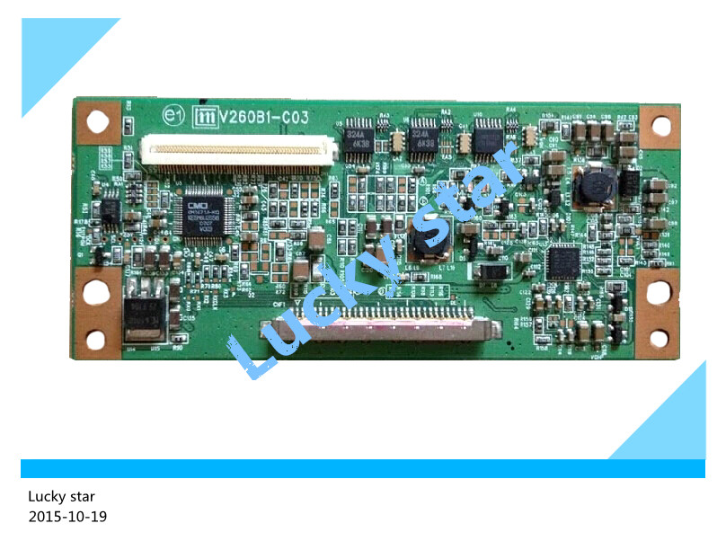 100% tested good working High-quality for original 99% new V260B1-C03 board V260B1-L01 V260B1-L04 logic board rsag7 820 4737 roh led39k300j led40k160 good working tested