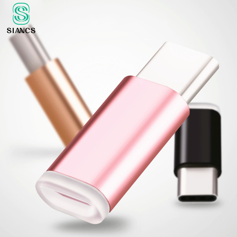 USB 3.1 Type C Cable Micro USB Female To Type-c Male Adapter USB-C Changer Fast Charging For Xiaomi 5 5S Mi5 Mi4C HuaWei P9 Plus
