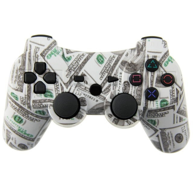 Wireless Game Controller For Sony PS3 Dual Vibration Joystick Gamepad Joypad For Playstation 3 PS3 (USD)