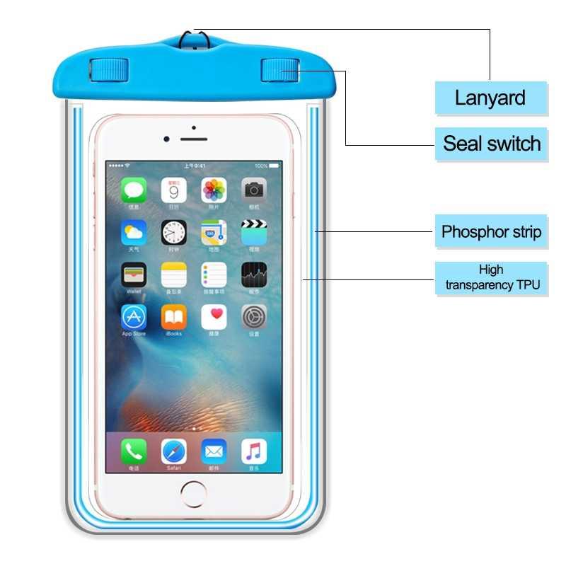 cheaper de583 b95fd Waterproof Case for Huawei P10 Lite Case P9 P8 2017 P20 Pro Silicone Pouch  Max 6 Inch P Smart Cover for Huawei Mate 10 Lite Case