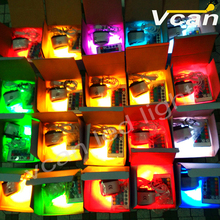 6 pcs DHL Free Shipping Super Bright 38LEDs RGBW wedding and party decor wireless remote led lightings